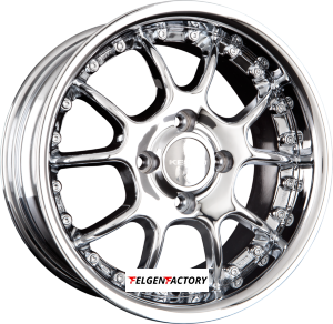 KESKIN KT J-JUBILE Real Chrome Einteilig 7x15 ET35 4x108